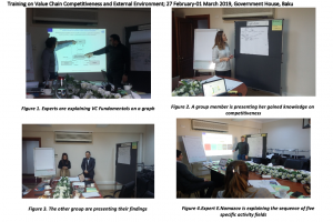Training on Value Chain Competitiveness and External Environment